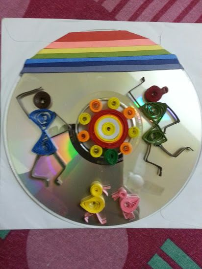 warli Quilling on CD