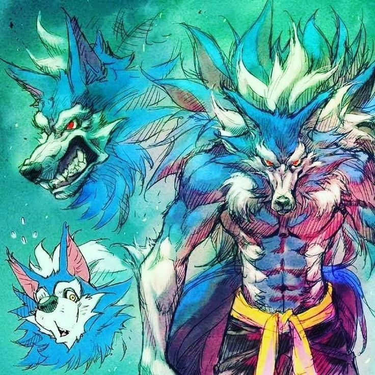 Pin by Andy Farsheed on Werewolves (With images) Anime