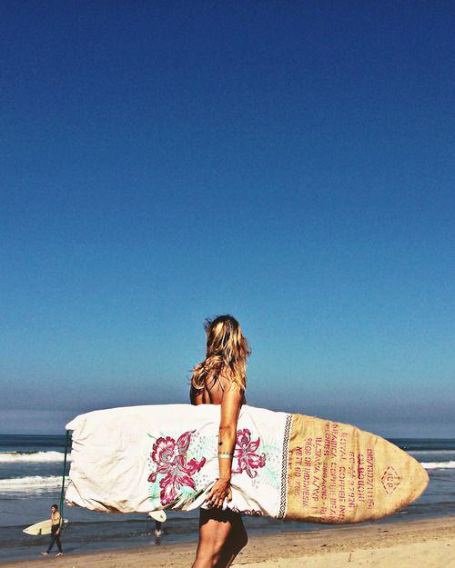 Sagebrush surfboard bag.
