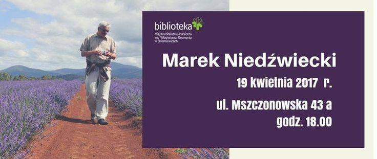 Spotkanie z Markiem Niedźwieckim w MBP w Skierniewicach