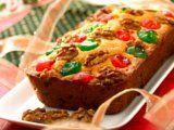 Light English Fruit Cake     Cake lembut ini bisa jadi pilihan yang pas untuk menyemarakkan suasana dan menemani waktu santai di rumah. resep : http://www.resepkita.com/detailResep.asp?recId=463#