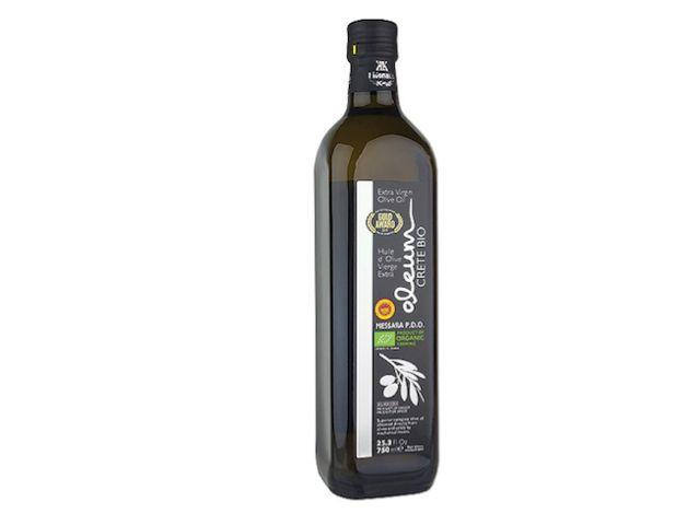 Oleum, Griekse Bio olijfolie in glas 750 ml met zuurtegraad van 0,24% - TOP!
