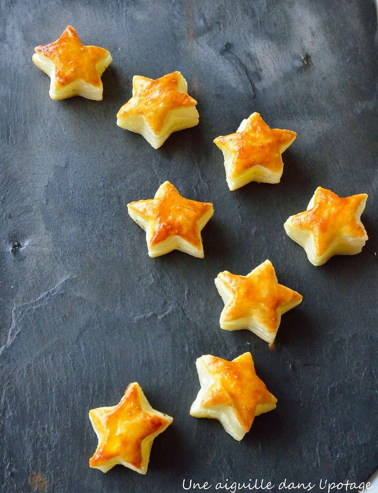 étoiles,feuilletés,chèvre frais,petit billy,basilic,apéritif,Noël,mise en bouche,petit four