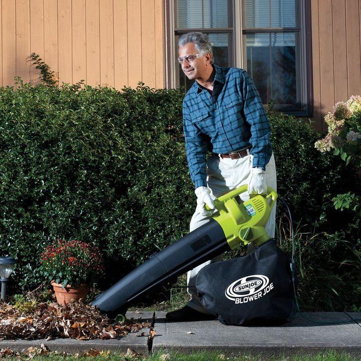 Electric Leaf Vacuum Shredder