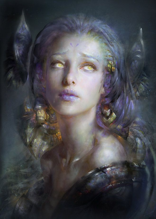 """Ruan Jia | facebook | deviantart | artstation rondo of moon elegy concept art for guild wars 2 blood glaze pale tree city of changan kite city (guild ward 2) door of the forbidden concept art for..."