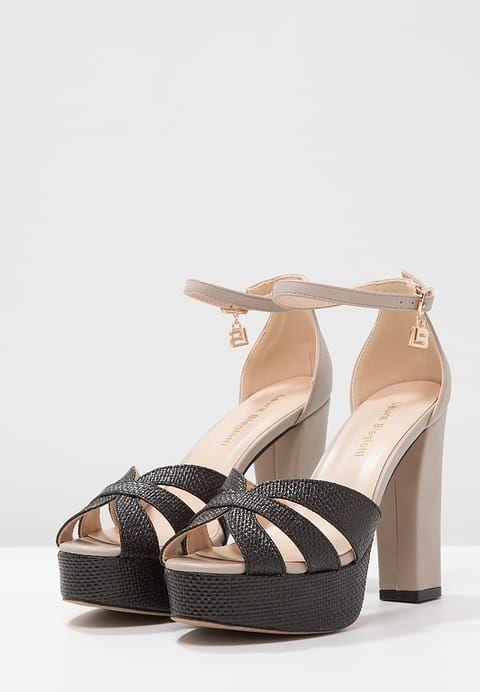 Laura Biagiotti Sandaler med høye hæler - tan/black - Zalando.no