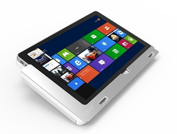Acer Tablet mit Windows 8 im Herbst