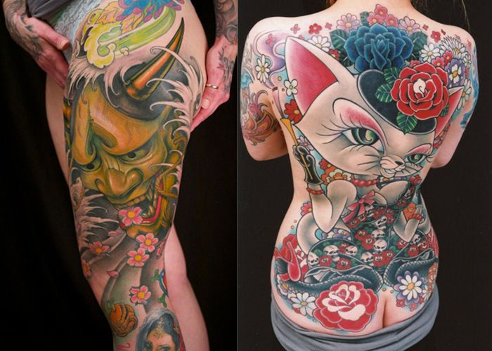 Tato Art Styles: 10 Of The World's BEST Japanese Style TATTOO ARTISTS: Pt1