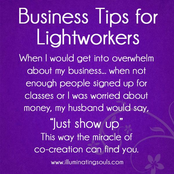 """""""Just Show Up"""" - this is the advice my husband gives me when I need encouragement about our business. It works every time."""