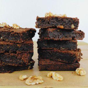 Brownie de boniato y algarroba | la gloria vegana
