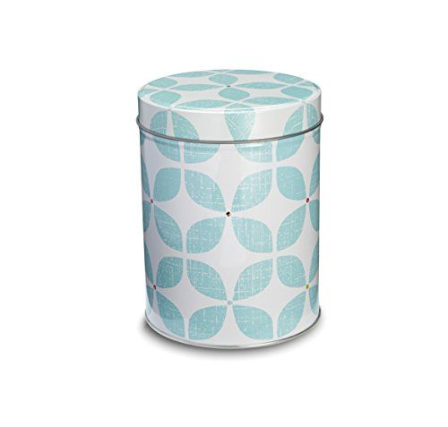"""Cooksmart 10.5 x 31.5 cm Tin """"Retro"""" Canister A with Blue... https://www.amazon.co.uk/dp/B00N1OLMRW/ref=cm_sw_r_pi_dp_Or9rxbTJYX8SN"""