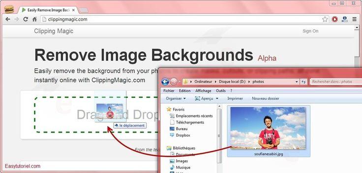 Enlevez l'arrière plan de vos images facilement avec cet outil magique !