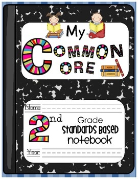 73 best second grade reading lesson images on pinterest guided my common core second grade standards based notebook fandeluxe Gallery