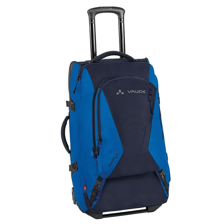 VAUDE Travel Backpack with Wheels | Tecorail 65 in Marine