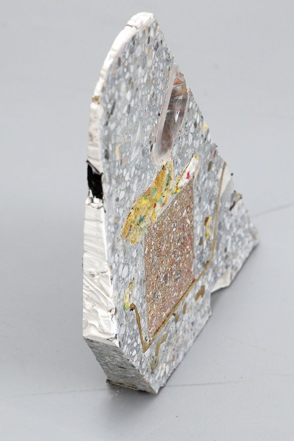 Jacob. Inconcrete. 2014, concrete and mixed media, 33x31x6 cm