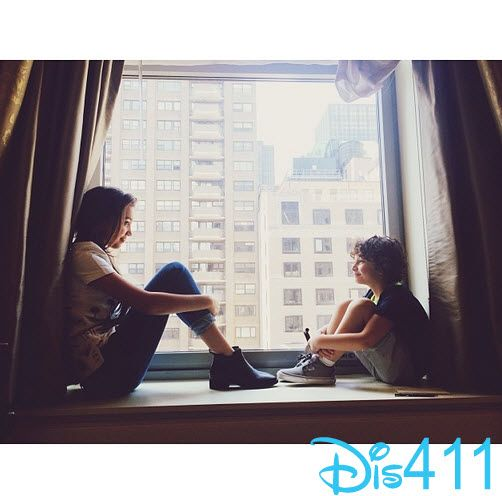 Photos: Rowan Blanchard With August Maturo In New York City June 22, 2014
