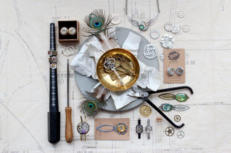 Steampunk styling for Clockwork Steampunk Emporium Wellington
