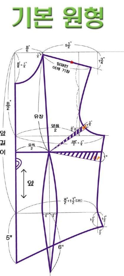 기본, 드레스 패턴 : 네이버 블로그