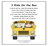 i ride the bus
