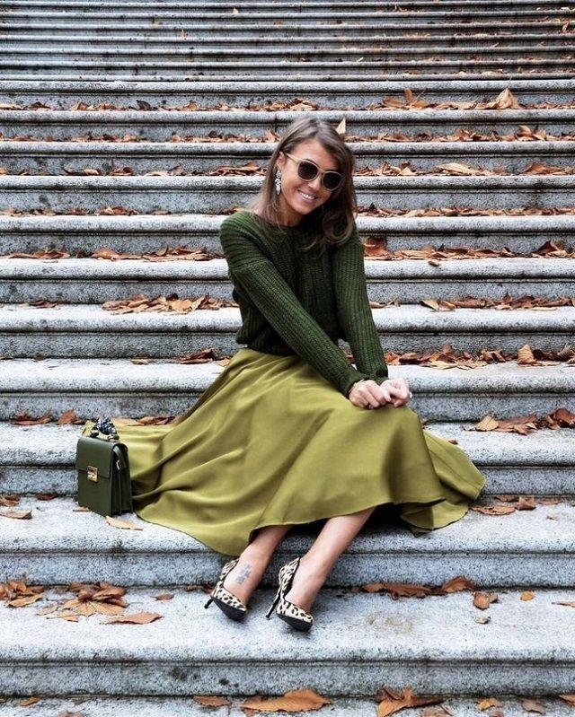 Ideas de look en color verde oliva. Lo Mejor de Street Style | Estilo chic,  Moda, Estilo