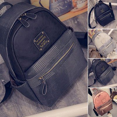 Women's Shoulder School Bag Backpack Travel Hiking Satchel Rucksack Mini Handbag