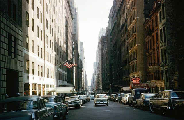 vintage everyday: New York in 1960