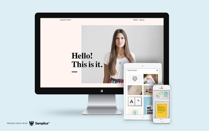 Semplice: Designers' Best Kept Secret | Abduzeedo Design Inspiration
