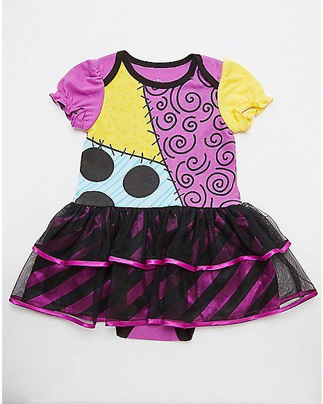 Sally Nightmare Before Christmas Baby Dress - Spencer's