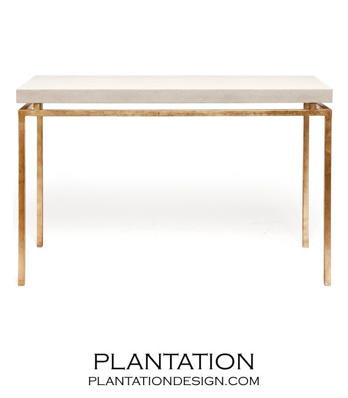 Depp Quot Shagreen Quot Gold Consoles Ivory Console Furniture Entryway Console Table Narrow Console Table
