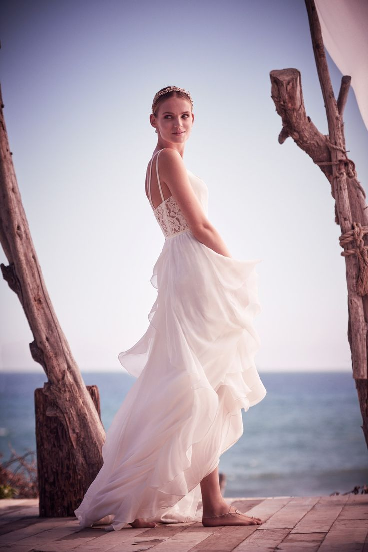 259 best beach wedding dresses and ideas images on for Davids bridal beach wedding dresses