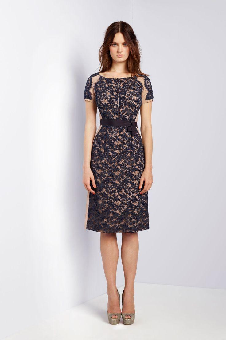 Collette Dinnigan dress | Style Me Pretty | Pinterest