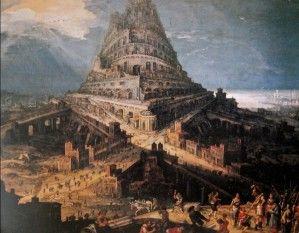 Hendrick Van Cleve - La construction de la Tour de Babel