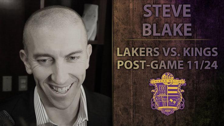 Lakers vs. Kings: Steve Blake Discusses Current Lakers Locker Room And U...