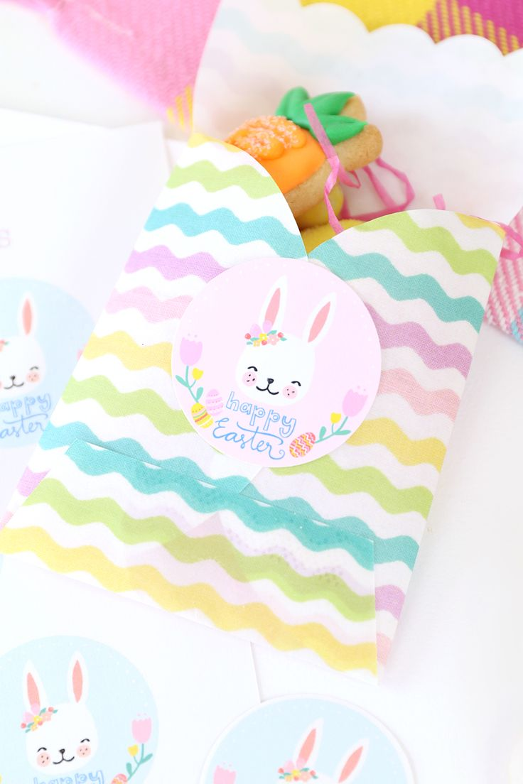 Free Printable Easter Spring Labels | damask love