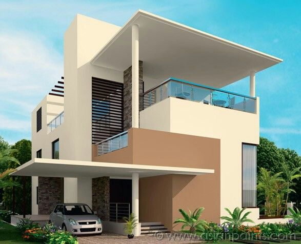 Exterior Paint Colour Combinations In India. Awesome Endearing ...