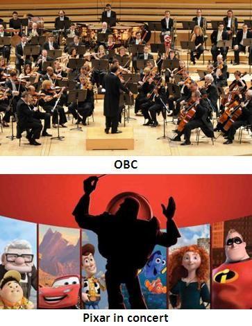 """Concert """"Pixar in concert"""", de l'Orquestra Simfònica de Barcelona i Nacional de Catalunya (OBC), a L'Auditori (Barcelona). 6, 7 i 8 de febrer 2015"""