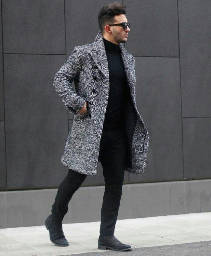 Grey coat is one of those pieces of outerwear that can never go out of style. This piece of clothing is also very versatile and can be worn on almost every style you can think of.