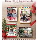 $20 off SHUTTERFLY Holiday Christmas Card + Shipping Code Coupon Ex 12/29/15 - http://couponpinners.com/coupons/20-off-shutterfly-holiday-christmas-card-shipping-code-coupon-ex-122915/