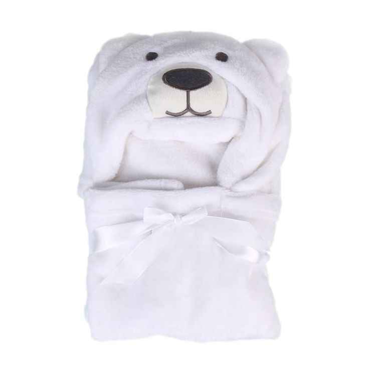 Baby Bath Towel 2017 New Lovely Animal Flannel Cartoon Kid's Hooded Bath Towels Soft Baby Towels Animal Shape Hooded Bath Towel