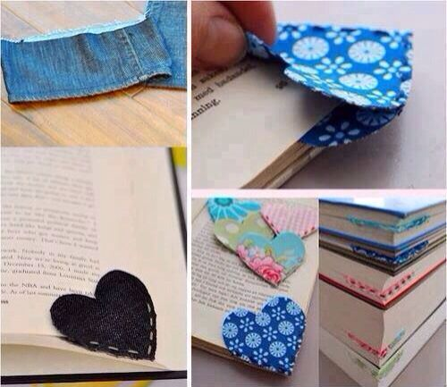 Cute diy bookmark crafty stuff pinterest for Diy bookmarks for guys