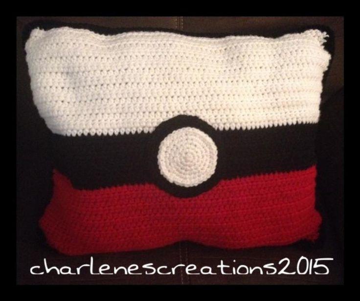 Crochet Pokemon Pillow By Charlenescreations Crochet 1