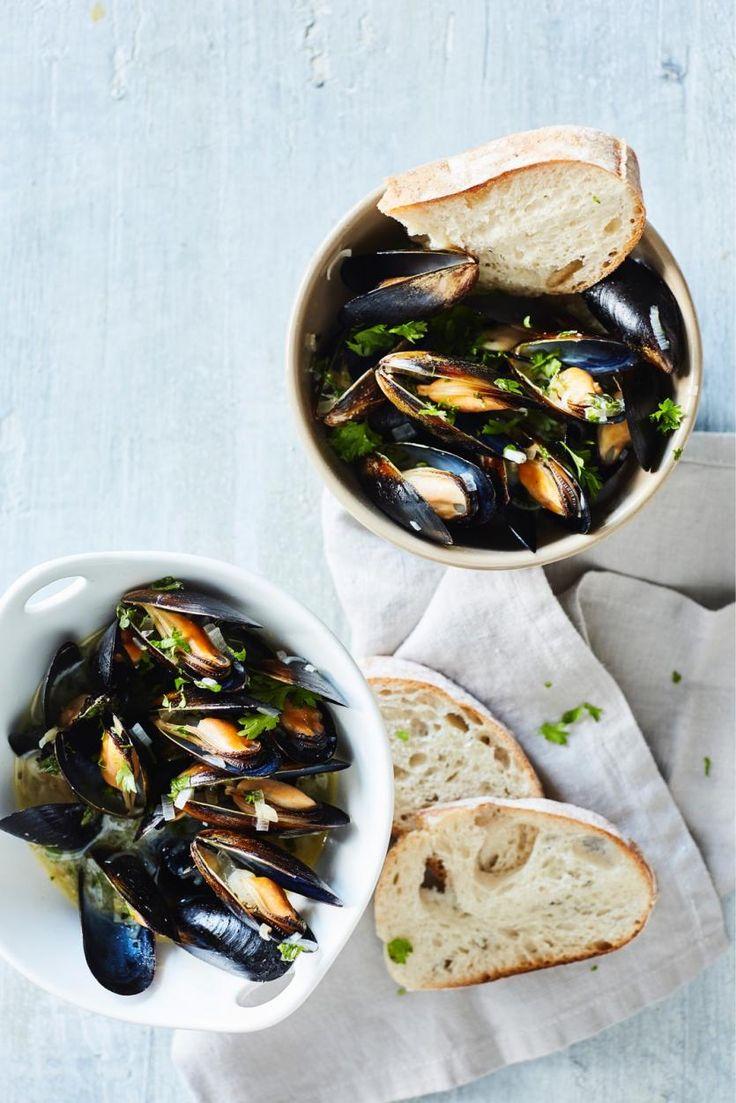 Sinisimpukat oluessa – helppo merellinen päivällinen