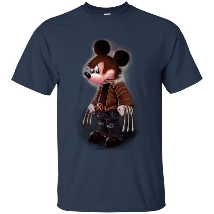 Mickey Wolverine Shirts Disney Mickey Mouse T shirts Hoodies Sweatshirts