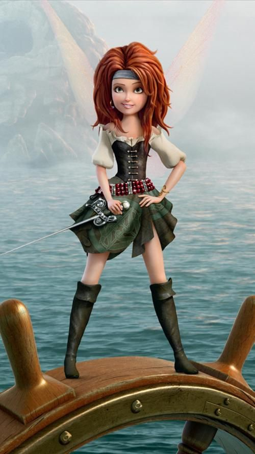 Zarina the Pirate Fairy ~ She's pretty.