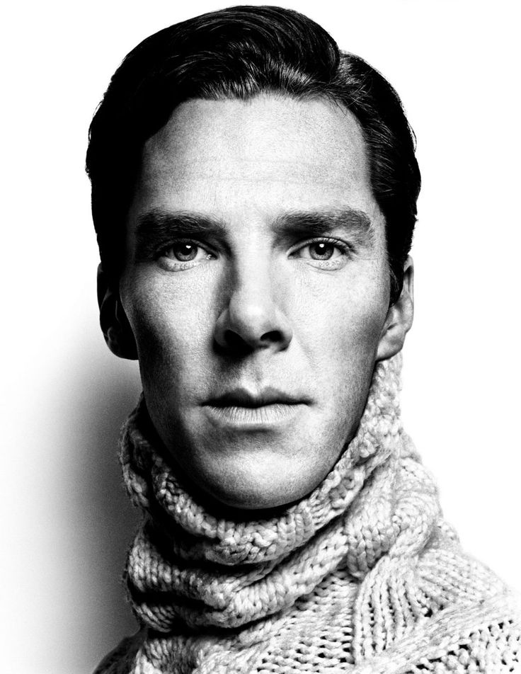 Benedict Cumberbatch (1976) - English film, television, theatre and voice actor. Photo by Platon