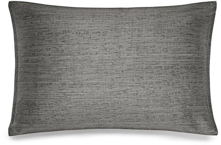 Calvin Klein - Acacia Grey Textured Pillowcase - 50x75cm