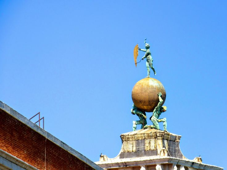 Customs Office Globe and Weather Vane http://destinationfiction.blogspot.ca/2014/10/dan-browns-inferno-more-venice-in-photos.html