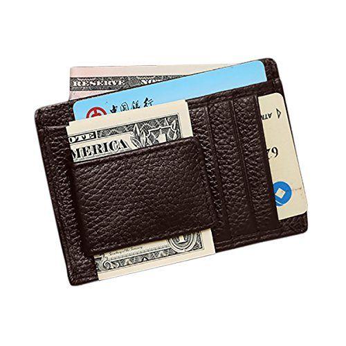 MPTECK @ Marrón Cartera para hombre Monedero Billetera de Cuero Tarjetas Ranuras Portatarjetas Caja de la Tarjeta con Clip de dinero magnética Pinza para billetes para tarjeta de identificación #MPTECK #Marrón #Cartera #para #hombre #Monedero #Billetera #Cuero #Tarjetas #Ranuras #Portatarjetas #Caja #Tarjeta #Clip #dinero #magnética #Pinza #billetes #tarjeta #identificación