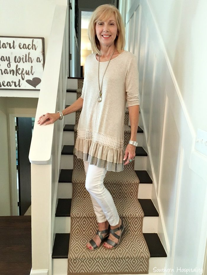 tunic & jeans || fashion over 50