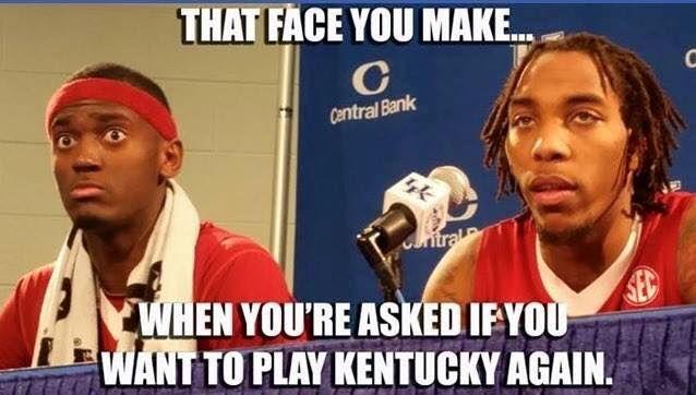 Arkansas Razorbacks 67, Kentucky Wildcats 84: Kentucky Slashes The Hogs, Goes To 29-0 - A Sea Of Blue